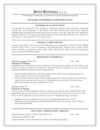 Enterprise Manager Resume Infrastructure Manager Resume Aviation Resum It Infrastructure