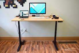 desk diy adjustable standing desk converter titan monitor stand