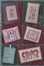 the drawn thread the joys of christmas ornaments cross stitch