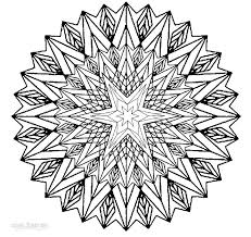 cool mandala coloring pages chuckbutt