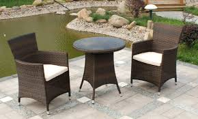 High Chair Patio Furniture Patio Ideas Rattan Outside Table And Chairs Patio Rattan Patio