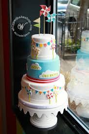 pinwheels baby shower cake by whipped bakeshop philadelphia
