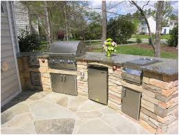 appliances simple kitchen idea for outdoor kitchen plan locating