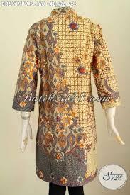 desain baju batik halus busana batik elegan desain terkini baju batik halus proses printing