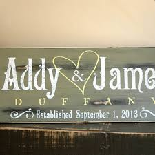 wedding plaques personalized shop personalized rustic wedding signs on wanelo