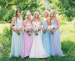 bridesmaid dresses for summer wedding pastel blue bridesmaid dresses for summer wedding blue