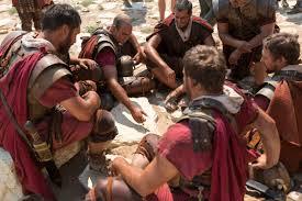 roman soldiers gambling
