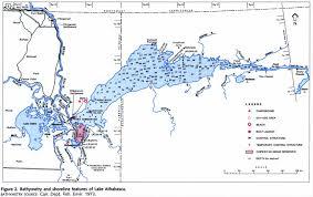 Table Rock Lake Map Lake Athabasca