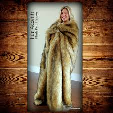 Faux Fur Blankets And Throws Faux Fur Golden Bear Skin Throw Blanket Minky Cuddle Lining Fur