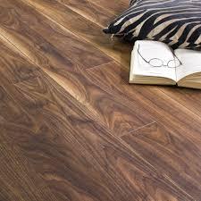 Kensington Manor Laminate Flooring 10mm American Black Walnut V Groove Laminate Flooring