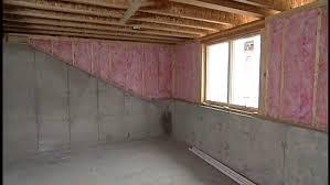 basement half wall ledge vapor barrier bat crawl home decor dirt