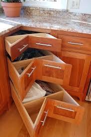 3 drawer kitchen cabinet kitchen corner drawer cabinet corner pullout drawers traditional