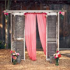 How To Decorate A Backyard Wedding Best 25 Outdoor Wedding Altars Ideas On Pinterest Outdoor