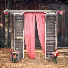How To Decorate A Backyard Wedding Best 25 Outdoor Wedding Altars Ideas On Pinterest Outdoor