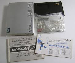 casio ml 71 casio pocket computers u0026 calculators collector pb