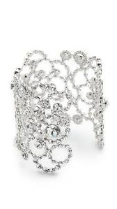silver crystal cuff bracelet images Kate spade new york twirl kate spade new york crystal lace cuff jpg