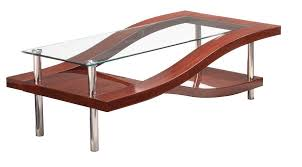 modern concept mahogany coffee table with details about satin