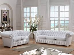 canapé chesterfield cuir blanc intégrer un canapé en cuir dans votre décoration rénovation et