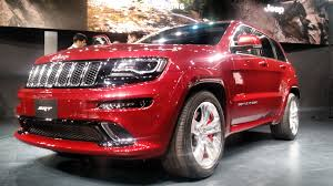 srt jeep 2016 white jeep grand cherokee srt auto expo 2016 carblogindia