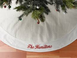 white tree skirt embroidered christmas tree skirt ivory quilted