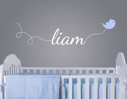 Wall Decals Baby Nursery Bird Wall Decals Nursery Decor
