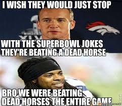 Peyton Superbowl Meme - super bowl joke meme