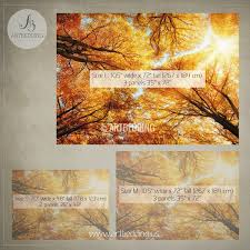 wall mural autumn treetop self adhesive photo mural artbedding