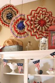 how to create a 4th of july burlap medallion diy pinterest
