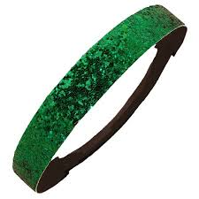 green headband kenz laurenz glitter headband headband sparkly hair