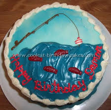 fishing cake ideas coolest fishing cake designs to make awesome fishing cakes