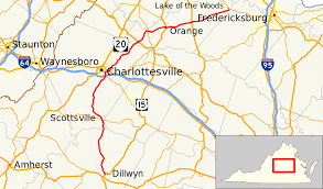 Map Of Eastern Virginia by Virginia State Route 20 Wikipedia