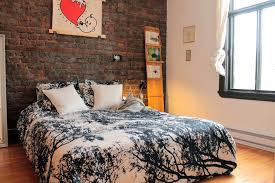 How To Decorate A Bedroom With White Furniture by 69 Cool Interiors With Exposed Brick Walls Digsdigs