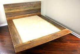 barnwood platform beds home beds decoration