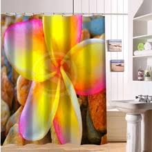 Cheap Modern Shower Curtains Online Get Cheap Pink Rose Shower Curtain Aliexpress Com