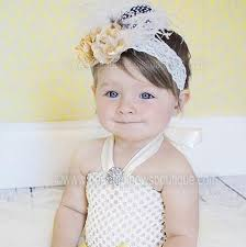 newborn bows buy ivory newborn infant vintage headband online at