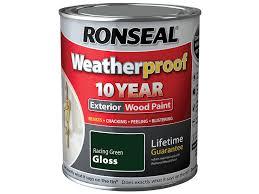 ronseal rslwprgg750 750 ml weatherproof exterior wood paint