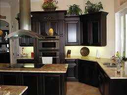 decorations glass painted backsplash for top 83 elegant dark wood cabinets brown off white kitchen cabinet