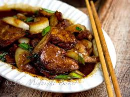 Roast Vegetable Recipe by Roast Pork With Chinese Vegetables The Midnight Baker