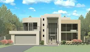 Modern House Plans South Africa Floor Plan 4 Bedroom Modern Style House Plan M434dnethouseplans