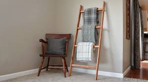 diy blanket how to make a blanket ladder u2014 an easy diy project perfect for