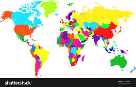 map clipart colored pencil and in color map clipart colored