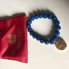 blue bracelet images Rustic cuff jewelry blue bracelet poshmark jpeg