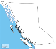 Map Of Bc British Columbia Free Map Free Blank Map Free Outline Map Free