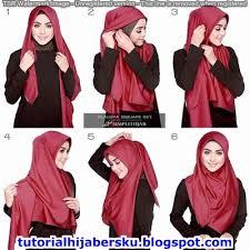 tutorial jilbab ala ivan gunawan tutorial hijab wisuda tumpuk simple dan mudah terbaru 2017 tutorial