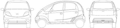 2009 tata nano microvan blueprints free outlines