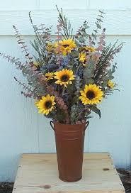 Sunflower Arrangements Ideas Best 25 Vase Arrangements Ideas On Pinterest Flower