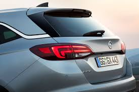 opel astra trunk all new opel astra sports tourer is lighter and more economical