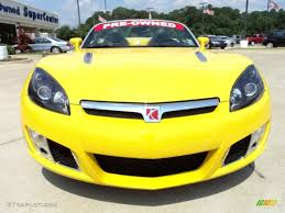 saturn sky red 2009 sunburst yellow saturn sky red line roadster 50329721 photo
