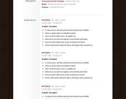 Online Resume Templates Free Resume Resume Cv Templates Beautiful Free Trial Resume Builder