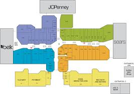 Tanger Outlet Map Mall Directory Valdosta Mall